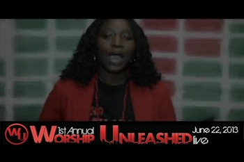 Kendee Naomi invites you to Worship Unleashed!