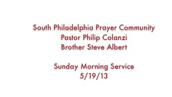 SPPC Sunday Morning Service