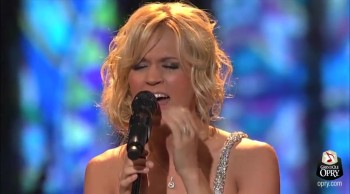 Pray for Oklahoma and Watch Carrie Underwood Sing Thank God for Hometowns