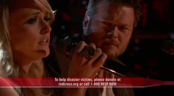 Oklahomans Miranda Lambert and Blake Shelton Perform Heart-Wrenching Tribute to Tornado Victims