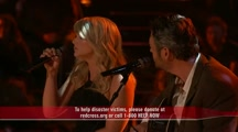 Fellow Oklahomans Miranda Lambert and Blake Shelton Perform Heart wrenching Tribute to Tornado Victims