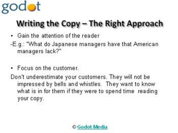 Effective Strategies for Copywriters