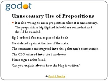 How to Use Prepositions Correctly When Writing Articles