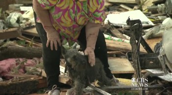 Tornado Survivor Reunited With Her Dog Buried Alive in Rubble - God Answered a Prayer !