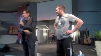 People healed during meeting