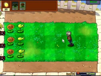 lets play plants vs zombies part 1