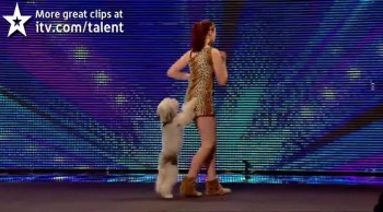 Girl and Her Dancing Dog Best Friend Perform a Dazzling Routine!