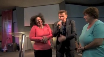 Car wreck victim healed of painful injuries