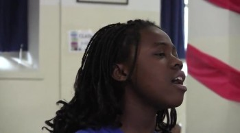Incredible Child Singer Praises God in School by Singing How Great is Our God