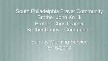 SPPC Sunday Morning Service - 6/16/13