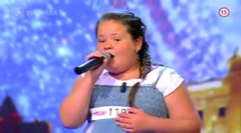 Little Girl Bullied for Weight Brings Judges to Tears With Her Inspiring Performance