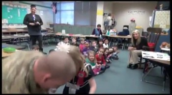 Little Girl Gets the Greatest Birthday Surprise - She is SO Cute!