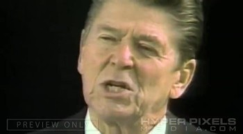 Ronald Reagan Delivers Godly Speech - One Nation Under God