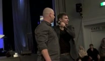 Pastor shock healing of painful neck