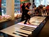 An Incredible Piano Duet - Using Feet!