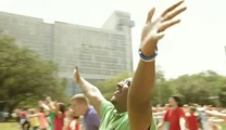 You Won't Believe How Many Christians Danced for Jesus in This Flashmob - WOW!