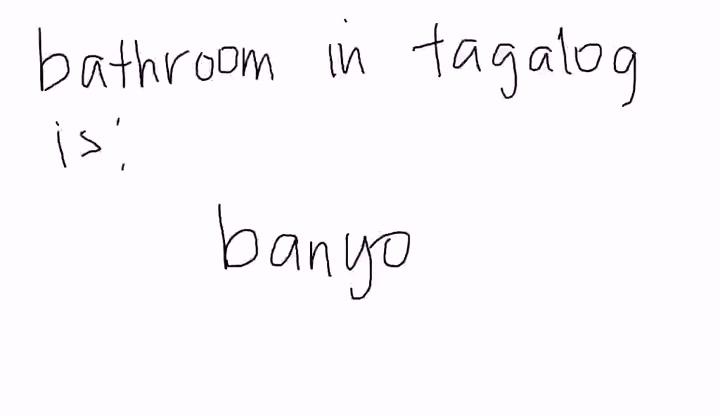 Tagalog - Bathroom - Education Videos