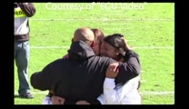 Marine Father Surprises His Boys at Football Game