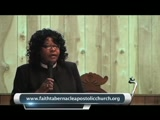 Pastor Mattie Crosby     6-1-13  PT1