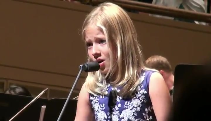Jackie Evancho Sings the Lord's Prayer with an Orchestra