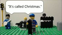 Christmas with a Capital 'C' - Go Fish; Lego animation