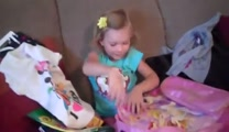 Little Girl's Disneyland Surprise Makes Her Cry Big Tears of JOY