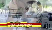 Man surprises girlfriend with her dream Pinterest wedding