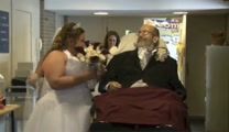 Man 'Walks' Daughter Down Aisle