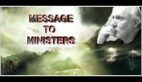 Message to Ministers