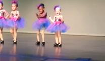 Preschooler Dancer Taps Her Way into Your Heart -- So Cute!