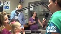 Pregnant Wife Surprised By Returning Soldier Husband During Live Radio Interview