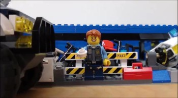 Donut VS. Enviroment; Lego amimation