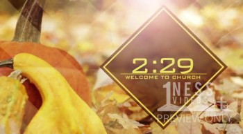 Autumn Church Countdown Videos - Oneness Videos