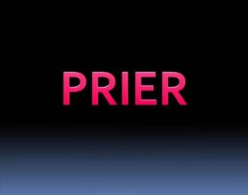 Prier -Pray