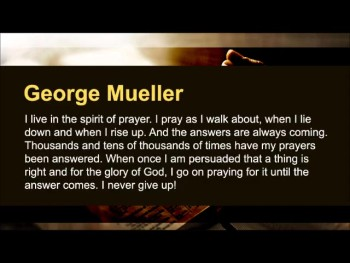 """""""Oftentimes, God answers prayer when they are most needed and least expected."""" (The Prayer Motivator Minute #479)"""
