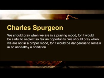 """D.L. Moody: """"Unless the Spirit of God is with us, we cannot expect that our prayers will be answered."""" (Prayer Motivator Minute #456)"""