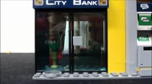 Bank Robbery FAIL!!!; Lego animation