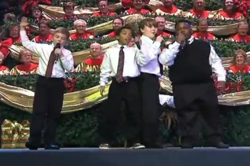 There's Something Hilarious About This Child Gospel Quartet