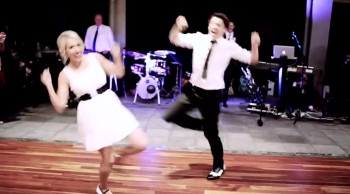 You'll Love How This Unique Couple Chose to Dance on Their Wedding Day 3