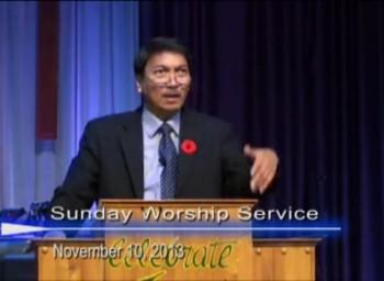 Pastor Preaching - November 10, 2013