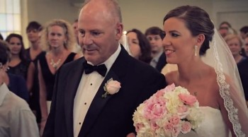 Cancer Surving Father Walks Daughter Down Aisle! Amazing Love Story