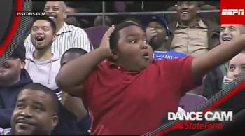 Epic Impromptu Dance-Off Between Young Fan, Usher
