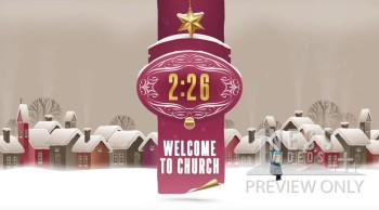 Christmas Town Church Countdown Video - Oneness Videos