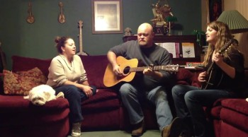 You Will LOVE This! The Alley Family Sings Lord it's Just Another Hill
