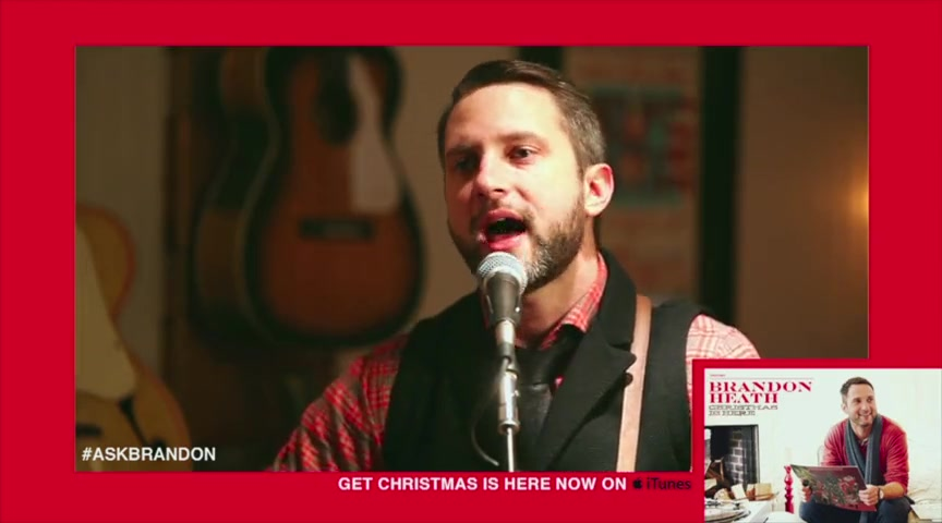 Brandon Heath - Just A Girl LIVE