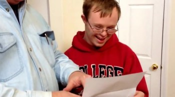 A Young Man With Down Syndrome Gets Some VERY Good News - Just Watch
