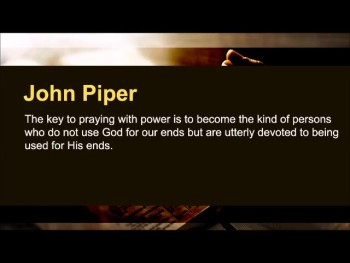 """William Tiptaft: """"When the Lord finds his rod, his people find their knees."""" (The Prayer Motivator Minute #448)"""