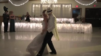 A Wedding Party Surprises Guests with Awesome Dance - Love This!