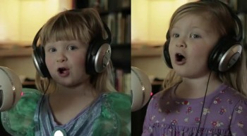 Twin Toddlers Adorably Sing Disney Song