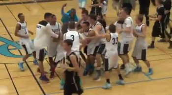 Special Needs Student Beats the Buzzer With an Awesome 3-Point Shot